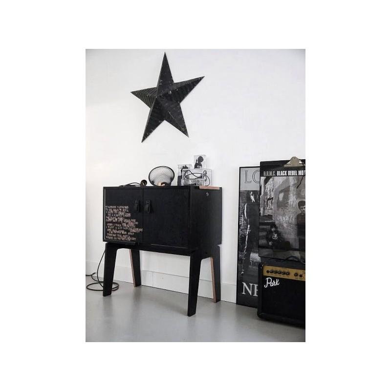 peinture tableau une peinture ardoise noir fa on tableau d 39 colier. Black Bedroom Furniture Sets. Home Design Ideas