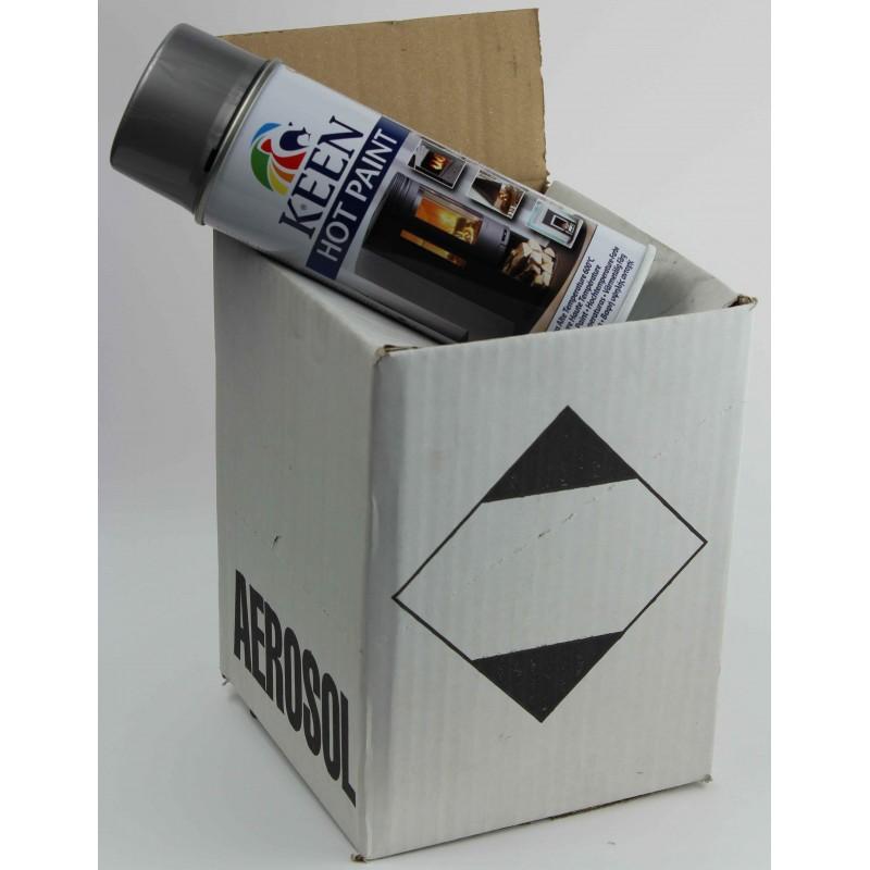 peinture haute temp rature en bombe peinture thermique 800 c. Black Bedroom Furniture Sets. Home Design Ideas