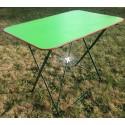 Relooking table de jardin metal
