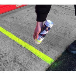 Peinture marquage - ligne support ciment