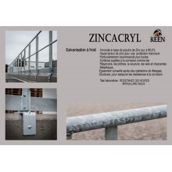 Galvanisation à froid - Zinacryl